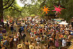 People at the Oregon Country Fair, Veneta, Oregon