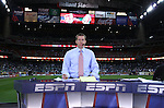 06 February 2008: ESPN broadcaster Rob Stone. The United States Men's National Team played the Mexico Men's National Team to a 2-2 tie at the Reliant Stadium in Houston, TX in a men's international friendly soccer game.