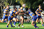 BLENHEIM,NEW ZEALAND. College Rugby, Marlborough Boys' College 1st XV vs Toowoomba Grammar at Marlborough Boys College, on April 5th 2016. (Photo by Ricky Wilson Shuttersport Limited)