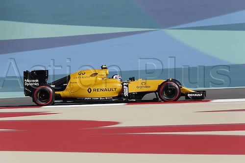 02.04.2016. Sakhir, Bahrain. F1 Grand Prix of Bahrain, qualification Saturday. 30 Jolyon Palmer (GBR, Renault Formula 1 Team)