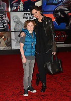 Minnie Driver &amp; Henry Story Driver at the world premiere for &quot;Star Wars: The Last Jedi&quot; at the Shrine Auditorium. Los Angeles, USA 09 December  2017<br /> Picture: Paul Smith/Featureflash/SilverHub 0208 004 5359 sales@silverhubmedia.com