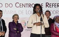 SAO PAULO, SP - 03.06.2016 - MULHER-SP - Djamila Ribeiro, Secretaria adjunta de Direitos Humanos participa da inaugura&ccedil;&atilde;o do Centro de Refer&ecirc;ncia da Mulher &quot;Maria de Lourdes Rodrigues&quot; no bairro do Cap&atilde;o Redondo, na tarde desta sexta-feira (03), zona sul da capital. A cerim&ocirc;nia contou com a presen&ccedil;a do prefeito, Fernando Hadda, da ex-ministra da Secretaria de Pol&iacute;ticas para as Mulheres, Eleonora Menicucci, a Secretaria de Pol&iacute;ticas para as Mulheres, Denise Motta Dau e do sub-prefeito do Campo Limpo, Antonio Carlos Ganem.<br /> <br /> (Foto: Fabricio Bomjardim / Brazil Photo Press)