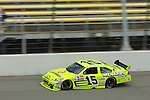 13 June 2008: Paul Menard practices for the LifeLock 400 at Michigan International Speedway, Brooklyn, Michigan, USA.