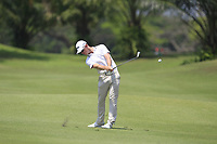 Brandon Stone (RSA) in action on the 2nd during Round 1 of the Maybank Championship at the Saujana Golf and Country Club in Kuala Lumpur on Thursday 1st February 2018.<br /> Picture:  Thos Caffrey / www.golffile.ie<br /> <br /> All photo usage must carry mandatory copyright credit (&copy; Golffile | Thos Caffrey)
