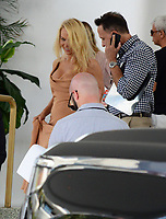 www.acepixs.com<br /> <br /> May 13 2017, Maimi FL<br /> <br /> Pamela Anderson seen at a hotel on May 13 2017 in Miami, FL<br /> <br /> By Line: Solar/ACE Pictures<br /> <br /> ACE Pictures Inc<br /> Tel: 6467670430<br /> Email: info@acepixs.com<br /> www.acepixs.com