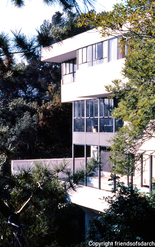 Richard Neutra: Lovell House, 1929. Hollywood. Photo '82.