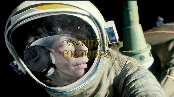 Sandra Bullock<br /> in Gravity (2013) <br /> *Filmstill - Editorial Use Only*<br /> CAP/FB<br /> Image supplied by Capital Pictures