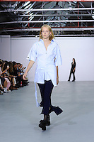 Runway<br /> at the Eudon Choi catwalk show as part of London Fashion Week SS17, Brewer Street Car Park, Soho London<br /> <br /> <br /> &copy;Ash Knotek  D3155  16/09/2016