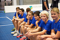 Rotterdam,Netherlands, December 15, 2015,  Topsport Centrum, ABNAMROWTT Ballkids selectionday<br /> Photo: Tennisimages/Henk Koster