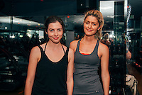 Kat Collings and Alina Gonzalez at Vega Sport Event at Barry's Bootcamp (Photo by Tiffany Chien/Guest Of A Guest)