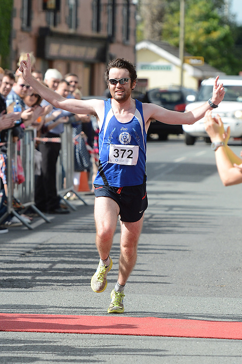 Eoin Callaghan from Star of the Sea AC was the winner in the Duleek 10K run. Photo:Colin Bell/pressphotos.ie