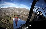 Views from a Beechcraft T-34A above Carson City, Nev., on Thursday, March 9, 2017. <br />