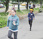 Victoria and Raif - Hearts of Gold 7th Annual Run/Walk for Kids with proceeds from this fun family event will change the futures of homeless mothers and their children on June 3, 2017 at Pier 84 Hudson Parks, New York City, New York. It supports Hearts of Gold Annual Back to School Programs. (Photo by Sue Coflin/Max Photos)