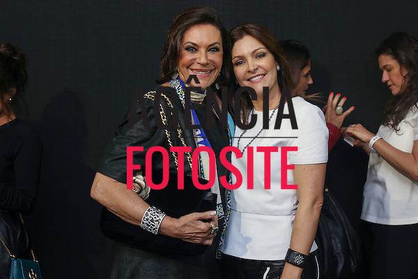 Sao Paulo, Brasil - 31/10/2013 - Beth Szafir e Patricia Motta no desfile de Patricia Motta durante o SPFW  - Inverno 2014. <br /> Foto : Barbara Dutra/ FOTOSITE