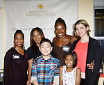 Rhonda Ross, Alan, Deborah Koenigsberger and Tessa Schorsch - Hearts of Gold - Learning Center at Semiperm for the ribbon cutting ceremony was held on March 09, 2016 in New York, New York - Manhattan's Upper West Side to honor Tessa Schorsch, her parents and all the kids and Dorreen Gibbs, Deborah Koenigsberger, Rhonda Ross and Hearts of Gold (Photo by Sue Coflin/Max Photos)