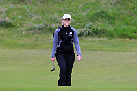 Hannah Screen (ENG) on the 1st during Round 2 of the Women's Amateur Championship at Royal County Down Golf Club in Newcastle Co. Down on Wednesday 12th June 2019.<br /> Picture:  Thos Caffrey / www.golffile.ie