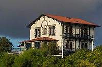 France, Aquitaine, Pyrénées-Atlantiques, Pays Basque, Biarritz: Villa Etchepherdia  //  France, Pyrenees Atlantiques, Basque Country, Biarritz: Villa Etchepherdia