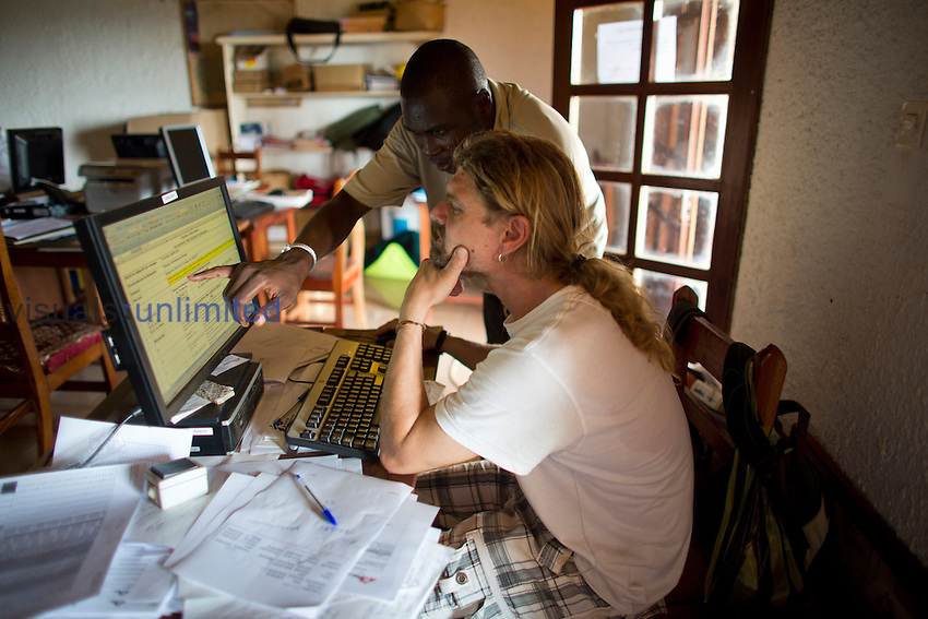 MSF staff in Bangui, Central African Republic