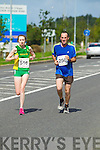 Deirdre and Barry Prendeville pictured at the Rose of Tralee International 10k Race in Tralee on Sunday.