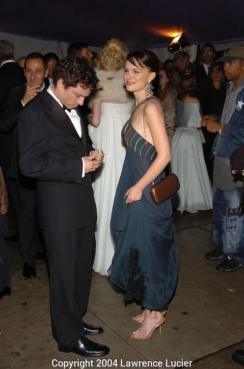Chris Kattan and Natalie Portman