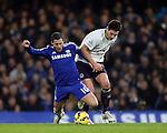 Chelsea's Eden Hazard tussles with Everton's Gareth Barry<br /> <br /> Barclays Premier League- Chelsea vs Everton  - Stamford Bridge - England - 11th February 2015 - Picture David Klein/Sportimage