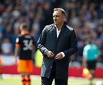Carlos Carvalhal manager of Sheffield Wednesday during the English Championship play-off 1st leg match at the John Smiths Stadium, Huddersfield. Picture date: May 13th 2017. Pic credit should read: Simon Bellis/Sportimage