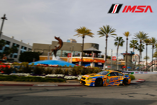 2017 IMSA WeatherTech SportsCar Championship<br /> BUBBA burger Sports Car Grand Prix at Long Beach<br /> Streets of Long Beach, CA USA<br /> Friday 7 April 2017<br /> 96, BMW, BMW M6 GT3, GTD, Bret Curtis, Jens Klingmann<br /> World Copyright: Jake Galstad/LAT Images