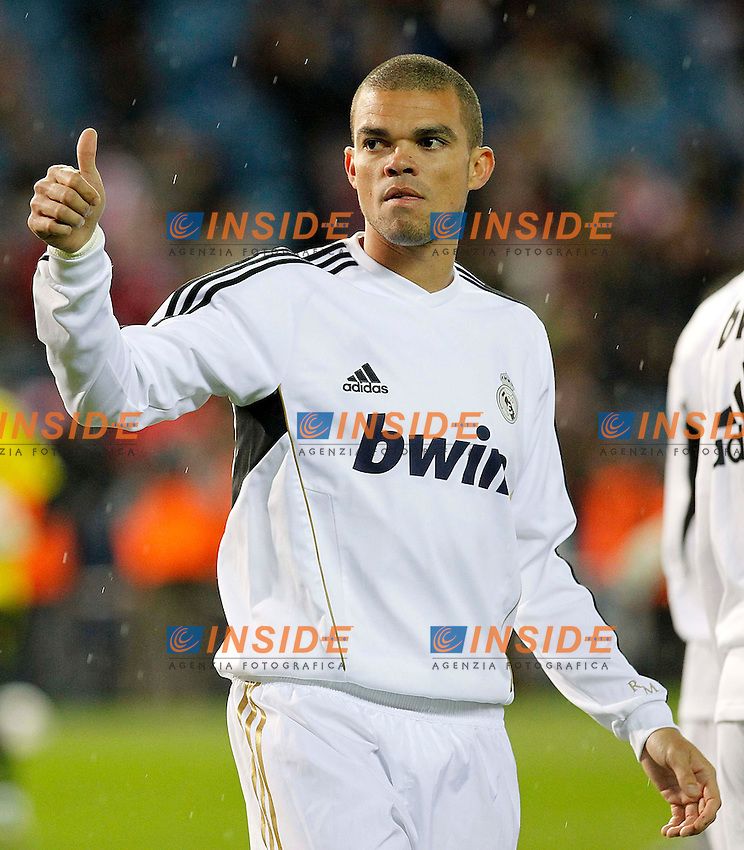 Pepe  (Real Mdrid).La Liga spagnola.11/04/2012 Madrid.Photo Insidefoto / Alex Cid-Fuentes / Alterphotos..Only Italy