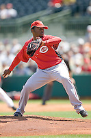 Cueto, Johnny 6923.jpg. Spring Training. Cincinnati Reds at Houston Astros. Spring Training Game. Friday March 20th, 2009 in Kissimmee., Florida. Photo by Andrew Woolley.