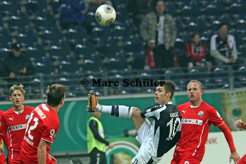 Vaclav Kadlec (Eintracht) - Eintracht Frankfurt vs. SV Sandhausen, DFB-Pokal, Commerzbank Arena