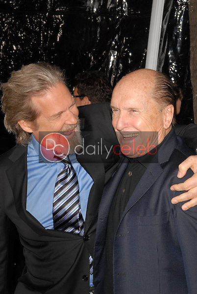"""Jeff Bridges and Robert Duvall<br /> at the """"Crazy Heart"""" Los Angeles Premiere, Acadamy of Motion Picture Arts and Sciences, Beverly Hills, CA. 12-08-09<br /> David Edwards/DailyCeleb.com 818-249-4998"""