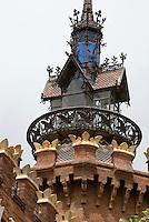 Spanien, Barcelona, Museum für Zoologie im Parc de la Ciutadella, erbaut von Domenech i Montaner