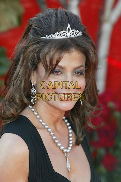 PAULA ABDUL.At the 56th Annual Prime Time Emmy Awards held the Shrine Auditorium, Los Angeles, CA, USA, .19th September, 2004..portrait headshot tiara necklace.Ref: ADM.www.capitalpictures.com.sales@capitalpictures.com.©Charles Harris/AdMedia/Capital Pictures .
