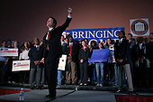 Charleston, South Carolina.USA.February 2, 2004..Senator John Edwards speaks at the College of Charleston just one day before the South Carolina primary vote.