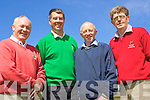 8792-8797.Enjoying themselves at the Kerry Captain's Invitational Tournament which took place at Ballyheigue Castle Golf Club on Saturday afternoon were l/r Mike Casey, Capt. Ross Golf Club, Barry Murphy, Capt. Tralee Golf Club, Willie Barrett, Capt. Ballyheigue Castle Golf Club and Sean McCarthy, Capt. Parknasilla Golf Club..