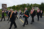 The Orange Order march which took place at the Battle of the Boyne site at Oldbridge outside Drogheda. Photo:Colin Bell/pressphotos.ie