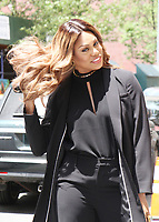 NEW YORK, NY - JUNE 15: Laverne Cox at The View in New York City on June 15, 2017. Credit: RW/MediaPunch