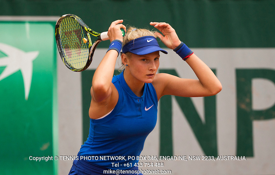 DAYANA YASTREMSKA (UKR)<br /> <br /> TENNIS - FRENCH OPEN - ROLAND GARROS - ATP - WTA - ITF - GRAND SLAM - CHAMPIONSHIPS - PARIS - FRANCE - 2016  <br /> <br /> <br /> <br /> &copy; TENNIS PHOTO NETWORK