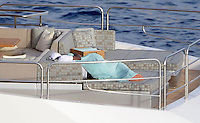 EXCLUSIVE - NBA stars Lebron James, Dwyane Wade and Chris Paul relaxing on a yacht and spend holidays on Mallorca, after finishing the basketball season in the US. Palma, 28.06.2016.<br /> Credit: JLS/insight media /MediaPunch ***FOR USA ONLY***
