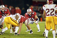 Cooper Blackhurst during Stanford's 49-17 loss to USC on November 9, 2002 at Stanford Stadium.<br />