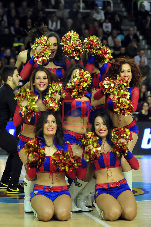 Euroleague Basketball-Top 16 Round: 04.<br /> FC Barcelona vs Unicaja Malaga: 83-79.<br /> Dream Cheers.