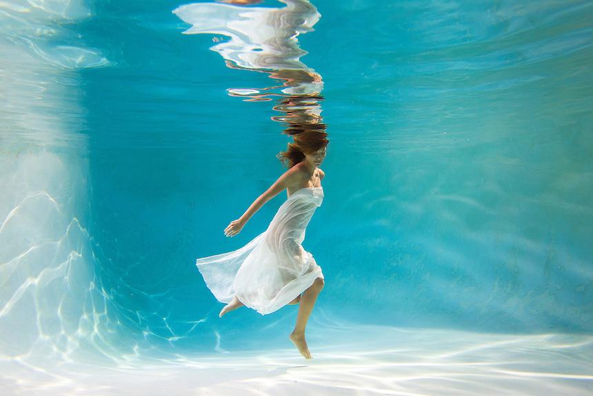 San Diego, California Underwater, fashion, female, model, skateboarding, beach, lifestyle, nude, figure, women, health, body, figure, water, summer