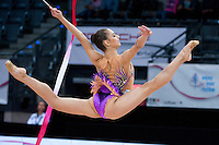 September 10, 2015 - Stuttgart, Germany -  ALEXANDRA PISCUPESCU of Romania performs during AA qualifications at 2015 World Championships.