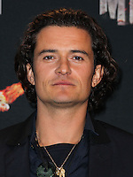 LOS ANGELES, CA, USA - APRIL 13: Orlando Bloom in the press room at the 2014 MTV Movie Awards held at Nokia Theatre L.A. Live on April 13, 2014 in Los Angeles, California, United States. (Photo by Xavier Collin/Celebrity Monitor)