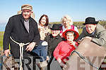 """STAGE FRIGHT: Members of The Tintean Players who are staging """"The Buds of Ballybunion"""" in Ballybunion at the weekend..L/r. Noel Finnucane, Philomena Doherty O'Sullivan, Patsy Costello, Marian Relihan, Nellie Walsh and Emmet Lynch."""