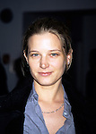 "Bridget Fonda at the opening night of ""Three Sisters"" at the Roundabout Theatre on February 13th, 1997."