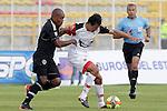 BOGOTÁ – COLOMBIA _ 07-12-2013 / En juego de ida por la promoción del fútbol profesional colombiano 2013, Fortaleza FC venció 2 – 0 a Cúcuta Deportivo en el estadio metropolitano de Techo de Bogotá.