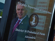 Washington, DC - May 24, 2016: Virginia Governor Terry McAuliffe leaves the District 36 Probation and Parole Office of the Virginia Department of Corrections, May 24, 2016, after a brief visit. The visit comes amid information that the FBI is investigating aspects of McAuliffe's 2013 campaign for governor. (Photo by Don Baxter/Media Images International)
