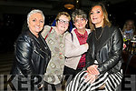 Attending the 'Bands For Bubbles' in aid of Siobhain Maher Sequeval in Benners Hotel on Friday. <br /> L to r: Irene McCord, Catherine McCarthy, Katiana Lopo and Karen Quirke