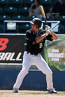 Ryan Boldt participates in the Area Code Games at Blair Field on August 8, 2012 in Long Beach, California. (Larry Goren/Four Seam Images)
